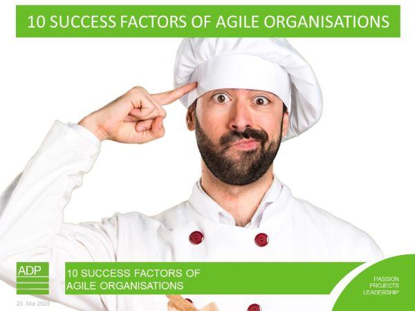 10 SUCCESS FACTORS OF AGILE ORGANISATIONS